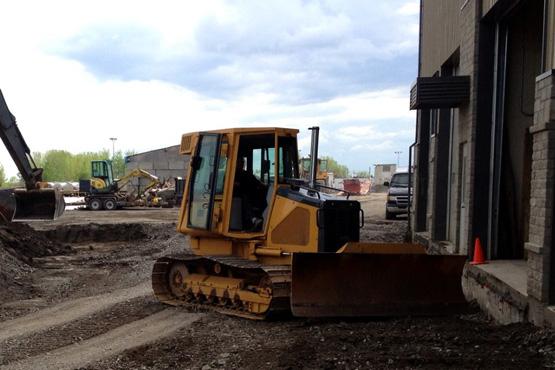 Excavation et réparation de fondation